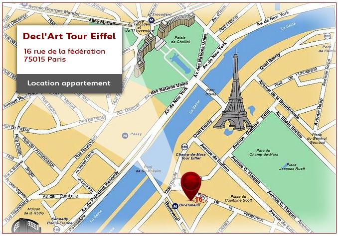 Salon decl 39 art for Appart hotel paris location au mois